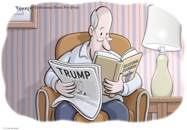 Clay Bennett  Clay Bennett's Editorial Cartoons 2017-02-10 Donald