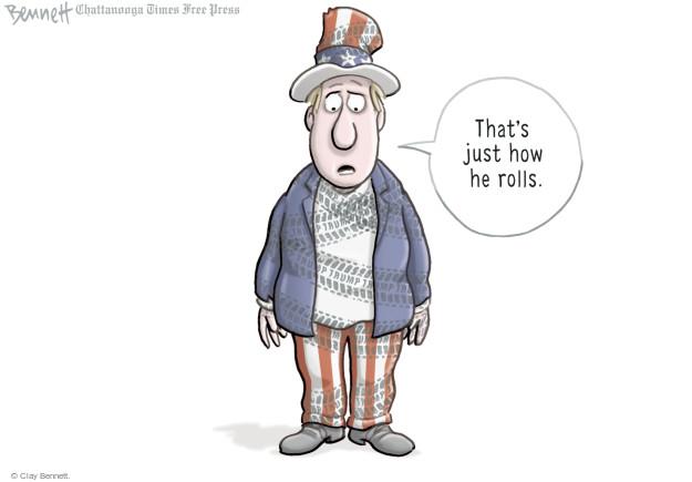 Cartoonist Clay Bennett  Clay Bennett's Editorial Cartoons 2017-02-16 behavior