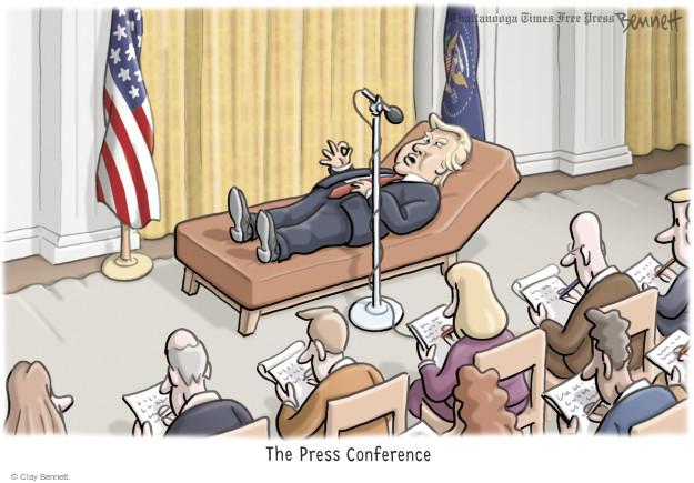 Clay Bennett  Clay Bennett's Editorial Cartoons 2017-02-17 journalism