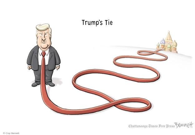 Clay Bennett  Clay Bennett's Editorial Cartoons 2017-03-06 Donald