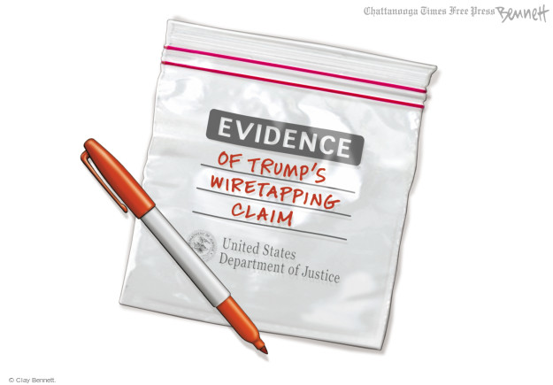 Evidence of Trumps wiretapping claim. United States Department of Justice.