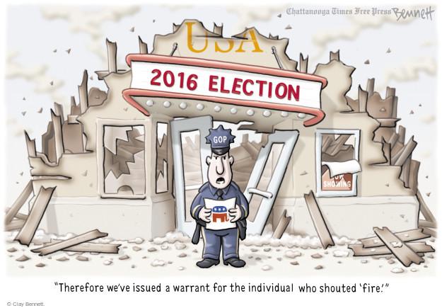 Clay Bennett  Clay Bennett's Editorial Cartoons 2017-03-21 presidential election