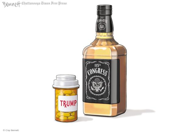Clay Bennett  Clay Bennett's Editorial Cartoons 2017-03-31 Donald