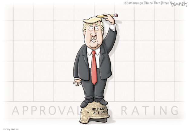Clay Bennett  Clay Bennett's Editorial Cartoons 2017-04-12 Donald