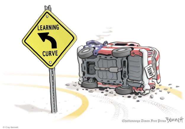 Clay Bennett  Clay Bennett's Editorial Cartoons 2017-04-17 Donald
