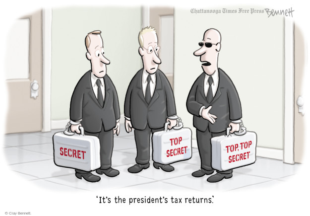 Cartoonist Clay Bennett  Clay Bennett's Editorial Cartoons 2017-04-18 Donald Trump taxes