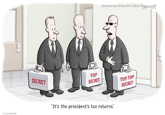 Clay Bennett  Clay Bennett's Editorial Cartoons 2017-04-18 tax form