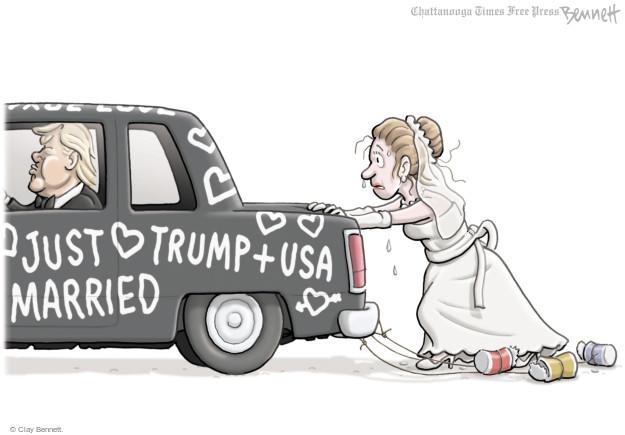 Clay Bennett  Clay Bennett's Editorial Cartoons 2017-04-27 Donald