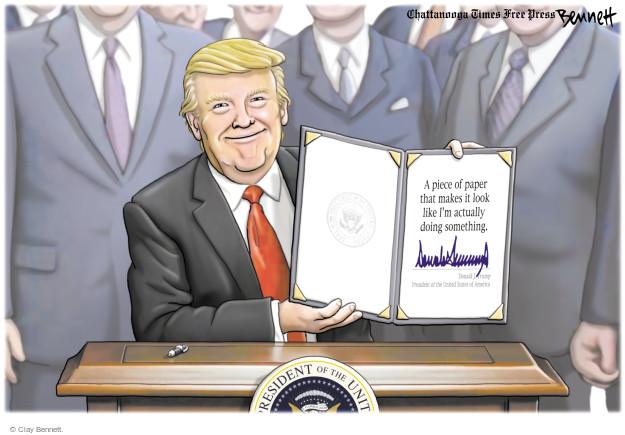 Clay Bennett  Clay Bennett's Editorial Cartoons 2017-05-01 Donald