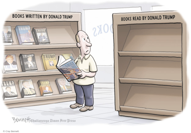 Cartoonist Clay Bennett  Clay Bennett's Editorial Cartoons 2017-05-02 book