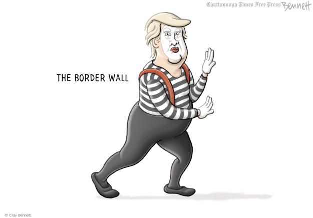 Clay Bennett  Clay Bennett's Editorial Cartoons 2017-05-04 Trump Immigration