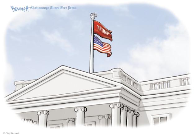 Clay Bennett  Clay Bennett's Editorial Cartoons 2017-05-15 Donald