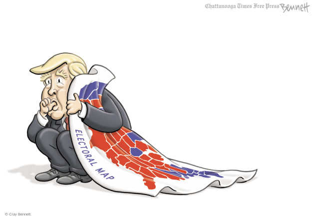 Clay Bennett  Clay Bennett's Editorial Cartoons 2017-05-18 presidential election
