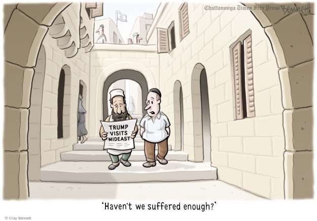 Clay Bennett  Clay Bennett's Editorial Cartoons 2017-05-22 middle