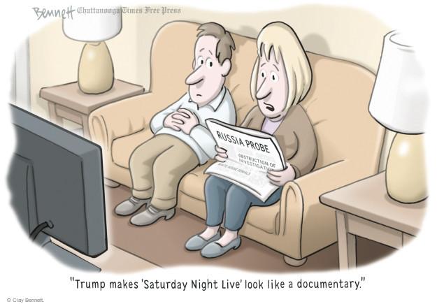 Clay Bennett  Clay Bennett's Editorial Cartoons 2017-05-25 presidential election