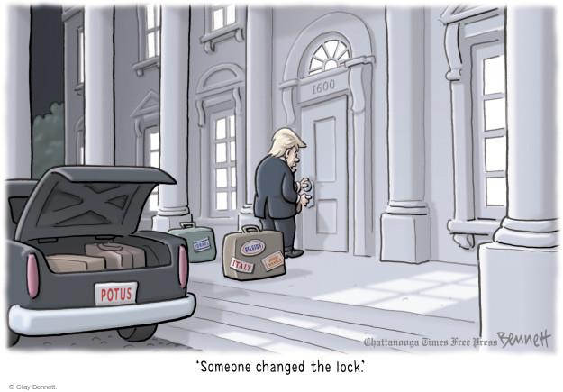 Clay Bennett  Clay Bennett's Editorial Cartoons 2017-05-29 Donald
