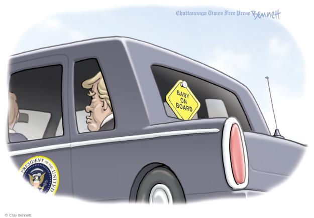 Clay Bennett  Clay Bennett's Editorial Cartoons 2017-06-01 Donald
