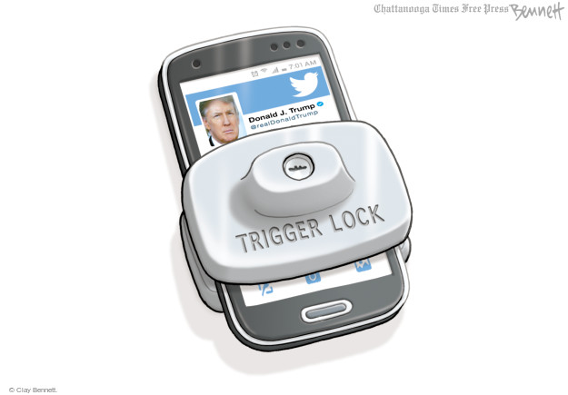 Clay Bennett  Clay Bennett's Editorial Cartoons 2017-06-07 Twitter