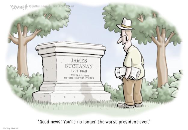 Cartoonist Clay Bennett  Clay Bennett's Editorial Cartoons 2017-06-08 American History