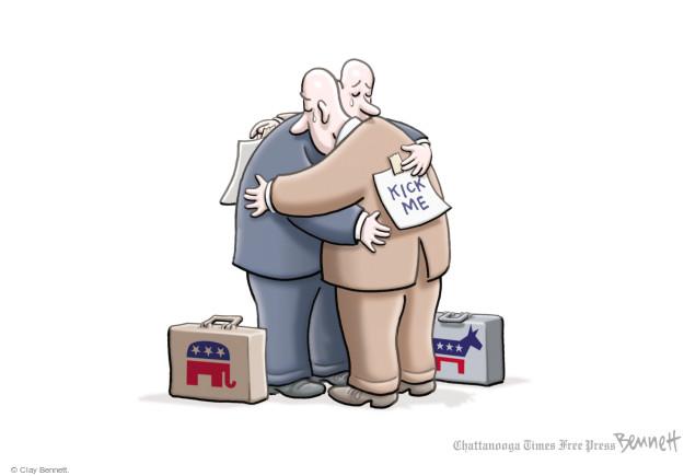 Clay Bennett  Clay Bennett's Editorial Cartoons 2017-06-16 republican democrat