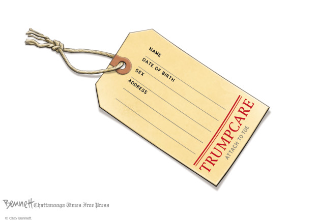 Clay Bennett  Clay Bennett's Editorial Cartoons 2017-06-21 program