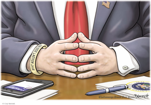 Cartoonist Clay Bennett  Clay Bennett's Editorial Cartoons 2017-06-30 office