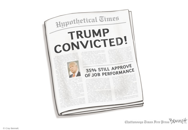 Cartoonist Clay Bennett  Clay Bennett's Editorial Cartoons 2017-07-18 opinion