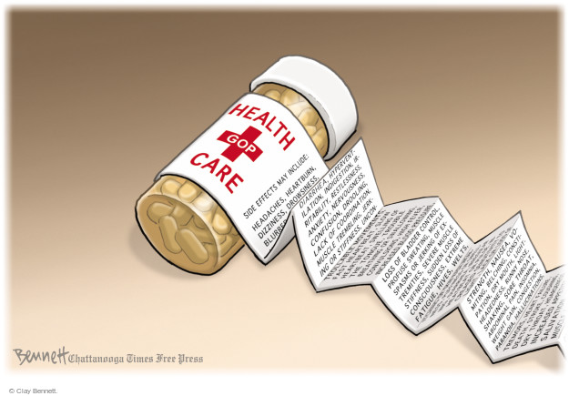 Clay Bennett  Clay Bennett's Editorial Cartoons 2017-07-14 program