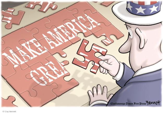 Clay Bennett  Clay Bennett's Editorial Cartoons 2017-08-23 Donald