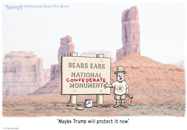 Clay Bennett  Clay Bennett's Editorial Cartoons 2017-08-28 natural
