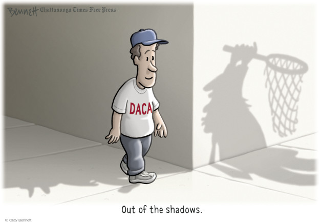 DACA. Out of the shadows.