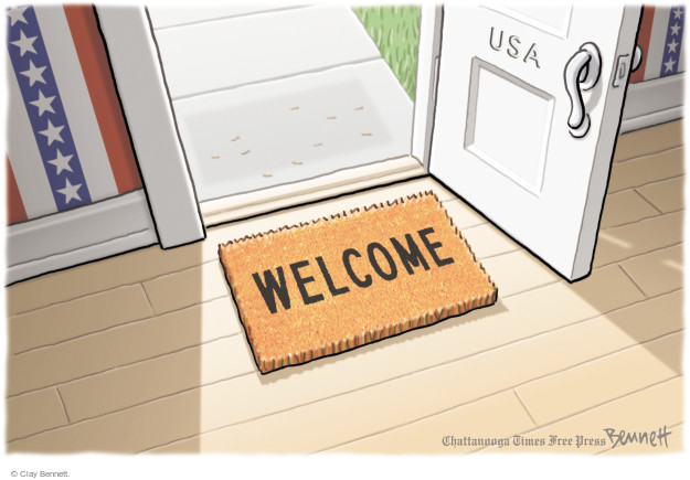 USA. Welcome.