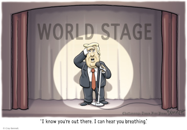 Cartoonist Clay Bennett  Clay Bennett's Editorial Cartoons 2017-09-20 editorial