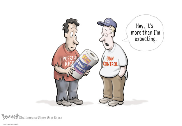 Clay Bennett  Clay Bennett's Editorial Cartoons 2017-10-05 natural