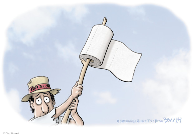 Clay Bennett  Clay Bennett's Editorial Cartoons 2017-10-13 natural