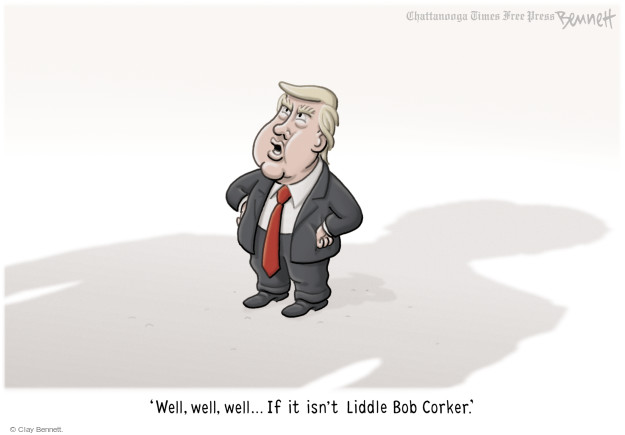 Clay Bennett  Clay Bennett's Editorial Cartoons 2017-10-25 Donald