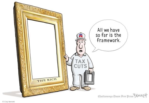 Clay Bennett  Clay Bennett's Editorial Cartoons 2017-10-27 cut