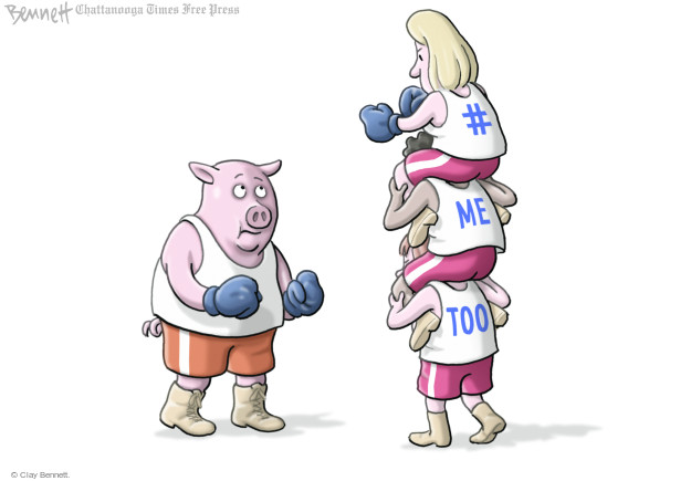 Clay Bennett  Clay Bennett's Editorial Cartoons 2017-11-22 boxing