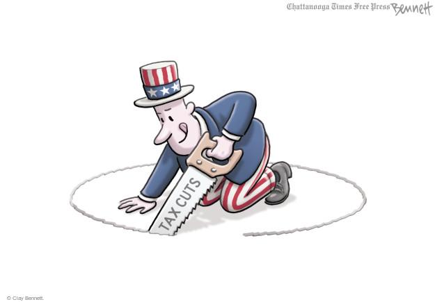 Clay Bennett  Clay Bennett's Editorial Cartoons 2017-11-28 tax