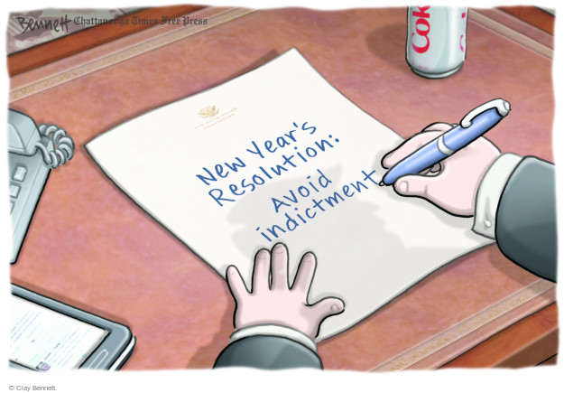 Clay Bennett  Clay Bennett's Editorial Cartoons 2017-12-28 Donald