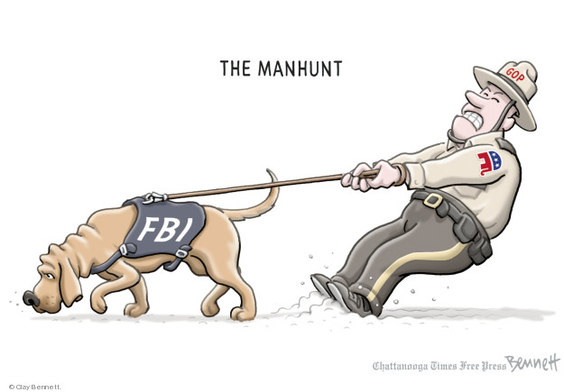 Cartoonist Clay Bennett  Clay Bennett's Editorial Cartoons 2018-01-25 congressional investigation