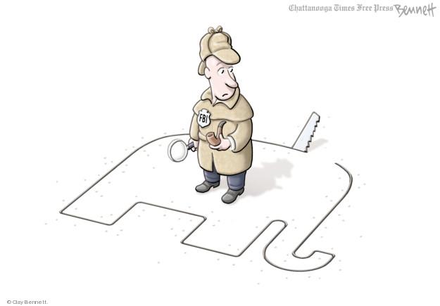 Clay Bennett  Clay Bennett's Editorial Cartoons 2018-02-01 presidential election