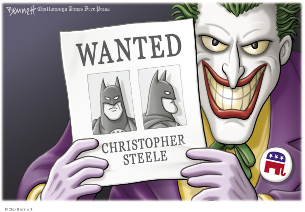 Wanted. Christopher Steele.