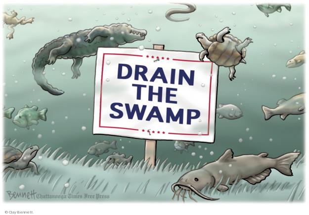 Cartoonist Clay Bennett  Clay Bennett's Editorial Cartoons 2018-02-26 Washington