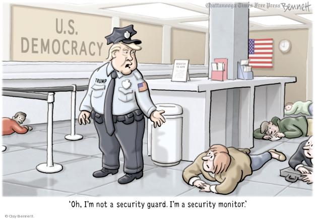 Cartoonist Clay Bennett  Clay Bennett's Editorial Cartoons 2018-02-28 editorial