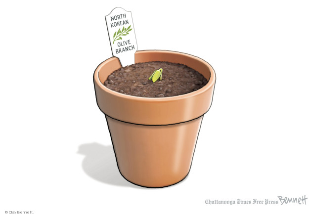 Cartoonist Clay Bennett  Clay Bennett's Editorial Cartoons 2018-03-09 weapon