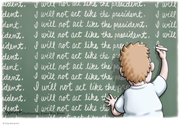 Cartoonist Clay Bennett  Clay Bennett's Editorial Cartoons 2018-03-15 editorial