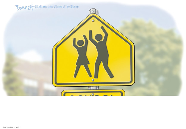 Cartoonist Clay Bennett  Clay Bennett's Editorial Cartoons 2018-03-21 shooting