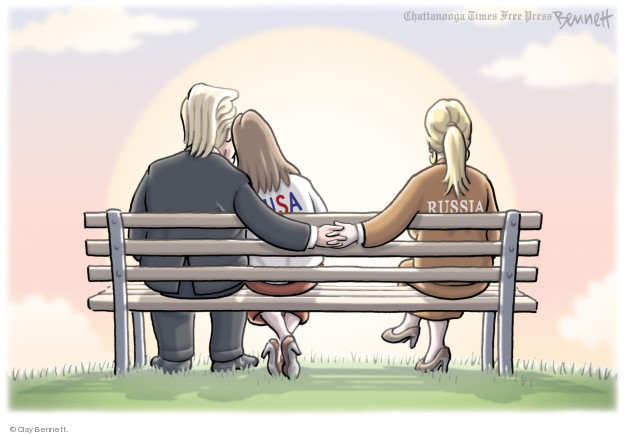 Cartoonist Clay Bennett  Clay Bennett's Editorial Cartoons 2018-03-29 editorial