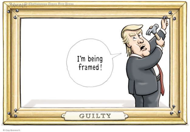 Cartoonist Clay Bennett  Clay Bennett's Editorial Cartoons 2018-04-10 editorial
